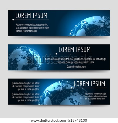 horizontal banners template