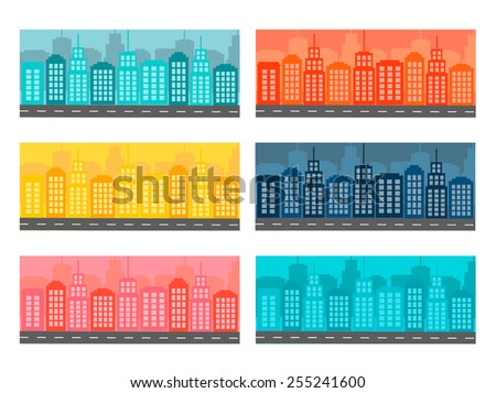 horizontal banners with