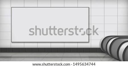 horizontal  blank white  empty