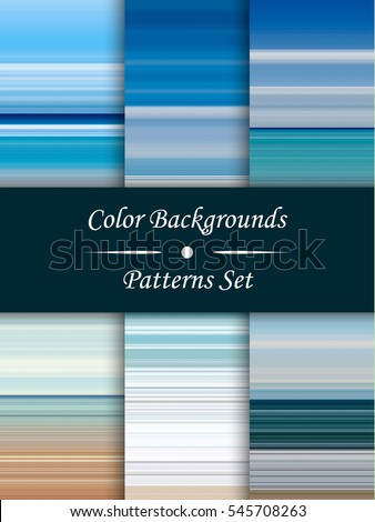 horizontal colorful stripes