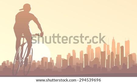 horizontal illustration of