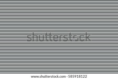 Horizontal line pattern. Stripe abstract background. Vector.