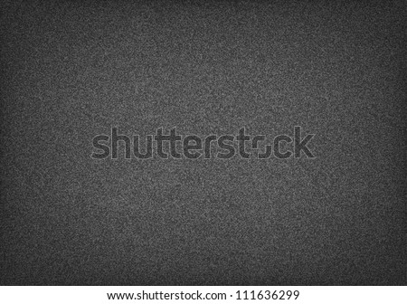 Horizontal paper a4 format template. Seamless pattern noise effect grainy texture on dark background. This vector illustration clip-art design element saved in 10 eps - stock vector