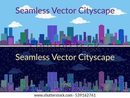 horizontal seamless urban