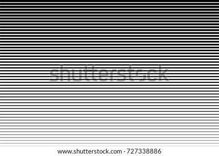 horizontal speed line halftone