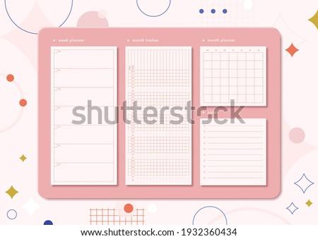 horizontal stationery board