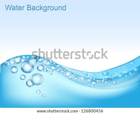 horizontal water background
