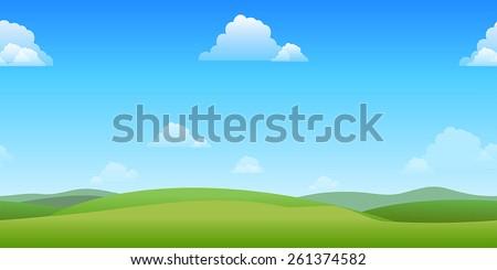 horizontally seamless game
