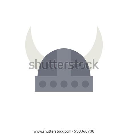 horned viking helmet icon
