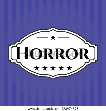Horror card or banner