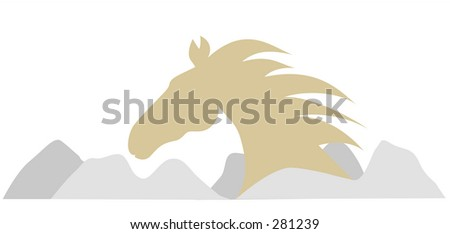 Horse Head and mountain