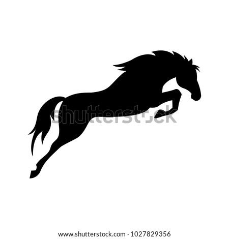 horse icon  vector  silhouette