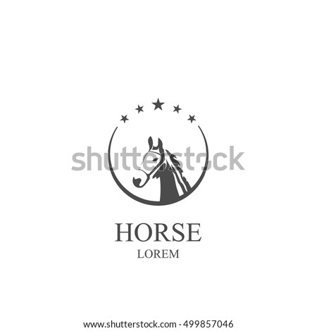 horse logo with the stars