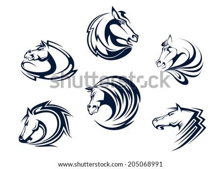 Winged Horse Logo Vector Free Vector Art At Vecteezy