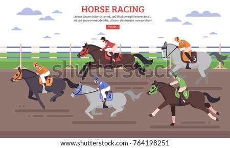 horse racing on hippodrome