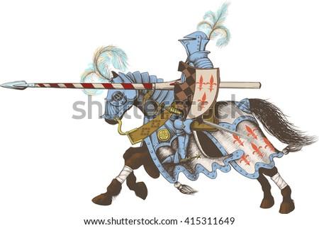 horseback knight of the