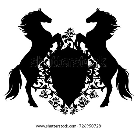 Free Horses Silhouette Vector Download Free Vector Art Stock