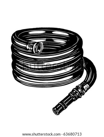 Hose - Retro Clipart Illustration
