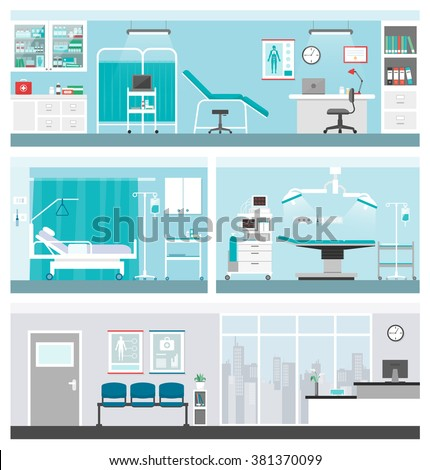 hospital and healthcare banners