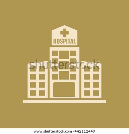 Hospital Building Icon.