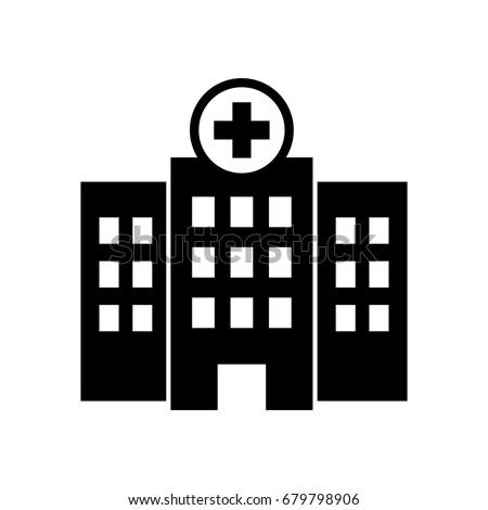 Hospital icon.
