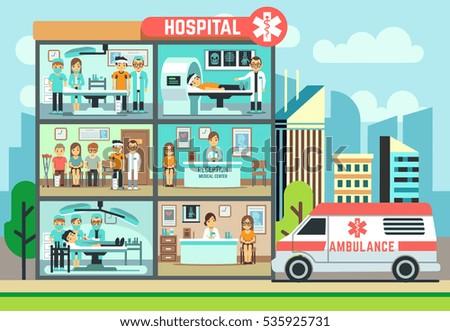 hospital  medical clinic