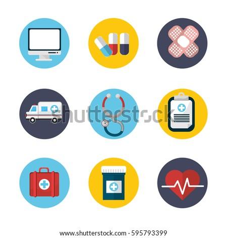 hospital medicine tools icon