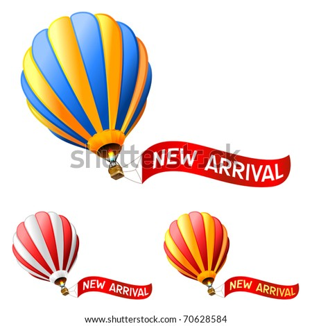 hot air balloon with new