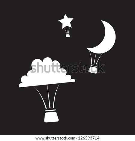 hot air balloons shaped like