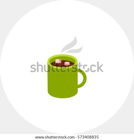 hot chocolate in mug icon