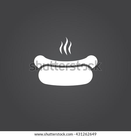 hot dog icon  hot dog icon eps