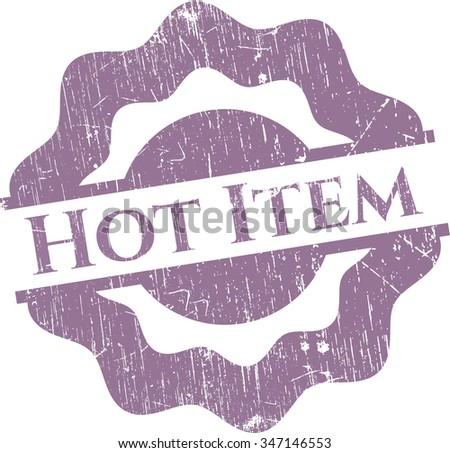 Hot Item rubber grunge texture stamp