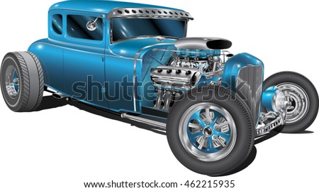 hot rod fully editable
