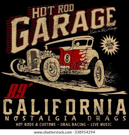 hot rod garage california