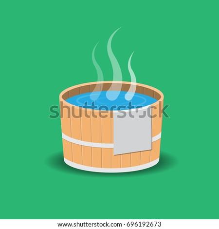 hot spring icon.
