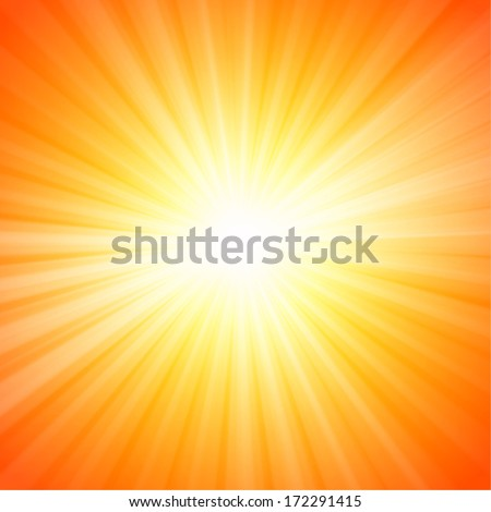hot sun lights  abstract summer