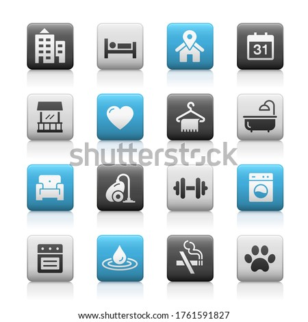 hotel and rentals icons 2 of 2