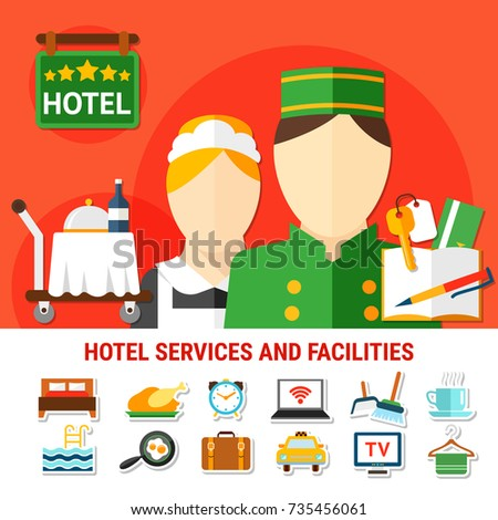 hotel facilities background