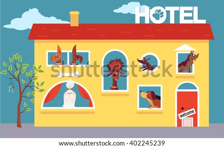 hotel for dogs cartoon hotel