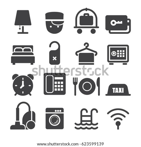 Hotel Icons [Black Edition]