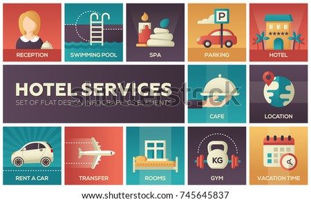 hotel services   set of flat