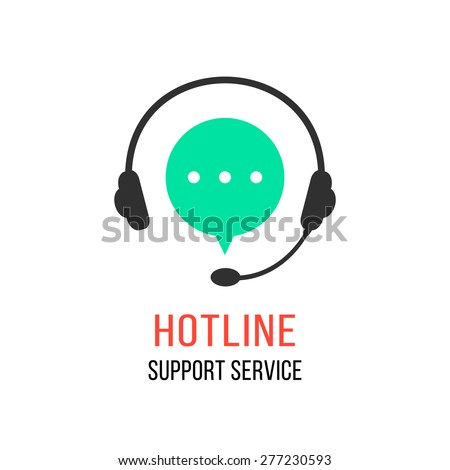 hotline support service with...