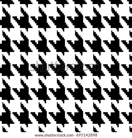 hounds tooth vector pattern