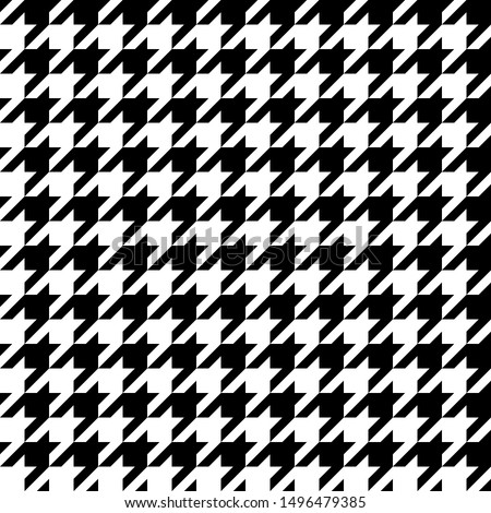 Houndstooth pattern.Wallpaper, Abstract background,Tablecloths, Clothes, Shirts, Dresses, Bedding, Blankets and other textile products-EPS10