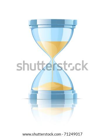 Hourglass - stock vector