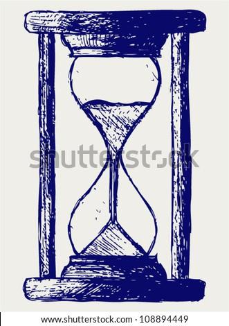 Hourglass sketch