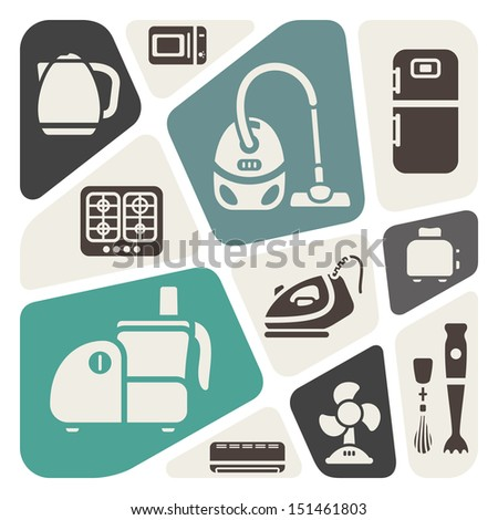 house appliances theme