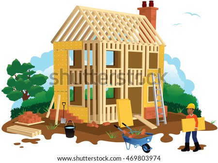 House building.