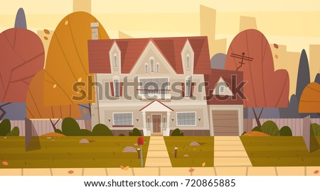 house building suburb of big