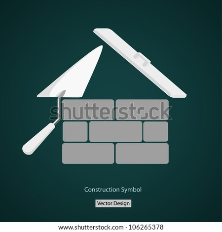 house building symbol vector creative design
